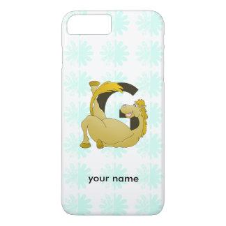 Monogram Letter G Pony iPhone 7 Plus Case