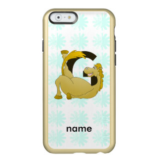 Monogram Letter G Pony Incipio Feather® Shine iPhone 6 Case
