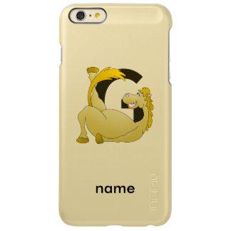 Monogram Letter G Pony iPhone 6 Plus Case