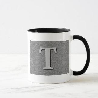 Monogram Letter T Mug