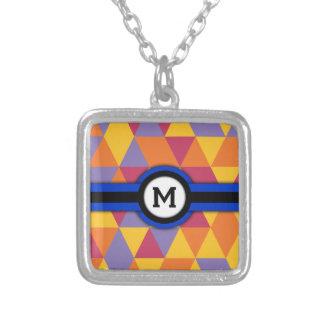 Monogram M Custom Necklace
