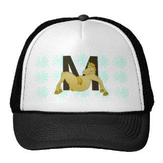 Monogram M Flexible Horse Personalised Trucker Hat