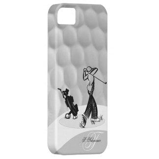 Monogram M Golfer Golf Ball Iphone 5 Case