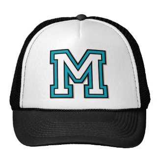 """Monogram """"M"""" Initial Cap"""