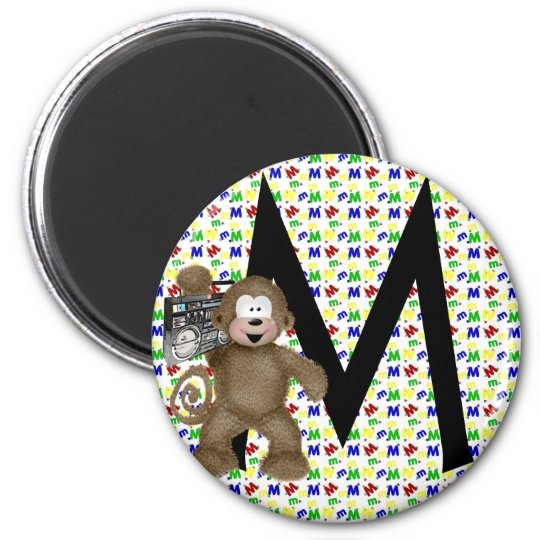 """Monogram """"M"""" Magnet"""