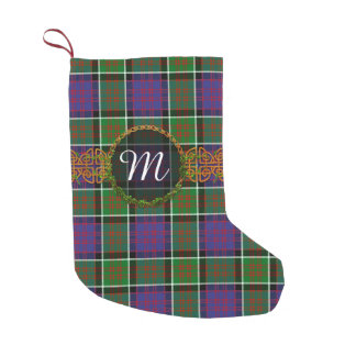 Monogram MacDonald Of Ranald Tartan Small Christmas Stocking
