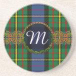 Monogram MacLaren Tartan Sandstone Coaster