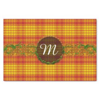 "Monogram MacMillan Tartan 10"" X 15"" Tissue Paper"