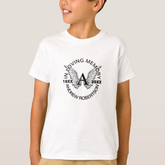 Monogram   Memorial   In Loving Memory Tshirt