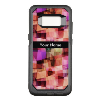 Monogram Modern Abstract OtterBox Commuter Samsung Galaxy S8 Case