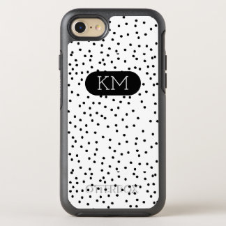 Monogram Modern Polka Dot OtterBox Symmetry iPhone 7 Case