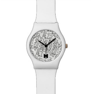 Monogram. Modern Random Geometric Lines. Watch
