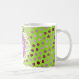 Monogram Moroccan art deco Coffee Mug