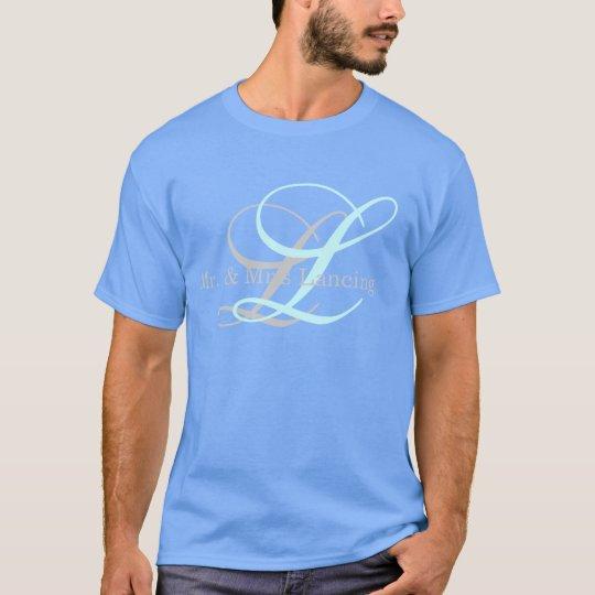 Monogram Mr. & Mrs. Shirt for Men