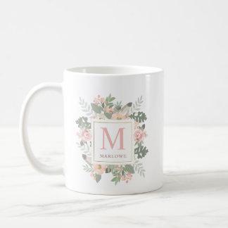 Monogram Mug | Spring Vintage Boho