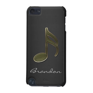 Monogram Music Note iPod Touch iPod Touch 5G Cases