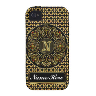 Monogram N Vibe 2 Important View Notes Please Vibe iPhone 4 Case