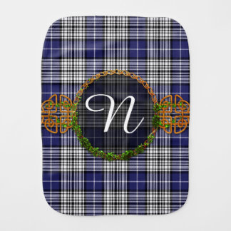 Monogram Napier Tartan Burp Cloth