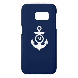 Monogram   Nautical Anchor