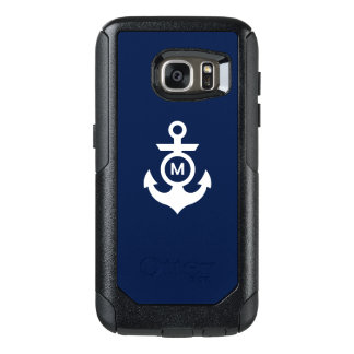 Monogram | Nautical Anchor OtterBox Samsung Galaxy S7 Case