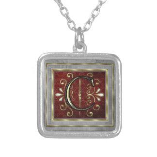 Monogram Necklace-C