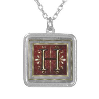 Monogram Necklace-H