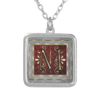 Monogram Necklace-M