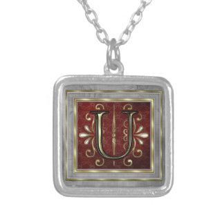 Monogram Necklace-U