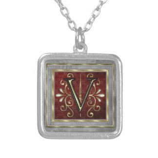Monogram Necklace-V