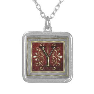 Monogram Necklace-Y