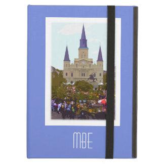 Monogram New Orleans Jackson Square iPad Air Cover