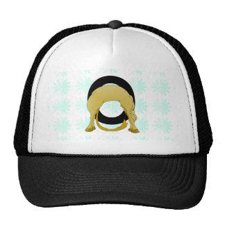 Monogram O Flexible Pony Personalised Trucker Hat