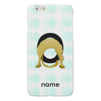 Monogram O Flexible Pony Personalised iPhone 6 Plus Case