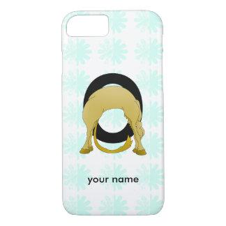 Monogram O Flexible Pony Personalised iPhone 7 Case