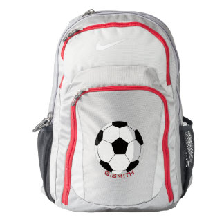 Monogram on Soccer Ball. Your Official Backpack