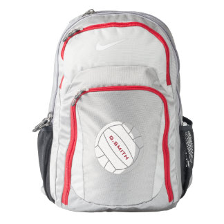 Monogram on Volleyball. Your Official Backpack
