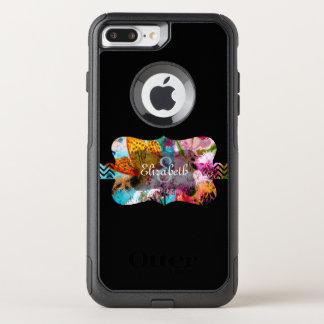 Monogram OtterBox Commuter iPhone 8 Plus/7 Plus Case