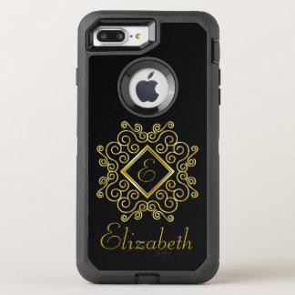 Monogram OtterBox Defender iPhone 8 Plus/7 Plus Case