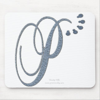 Monogram P Mouse Mat