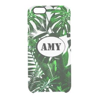 Monogram Palm Leaves iPhone Case