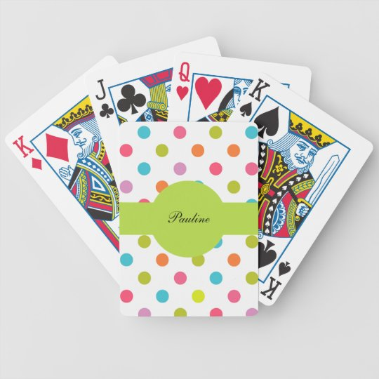 Monogram Personalised Playing Cards