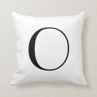 Monogram Pillows O