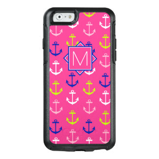 Monogram | Pink & Blue Nautical OtterBox iPhone 6/6s Case