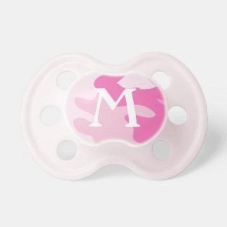 Monogram Pink Camo | Pacifier