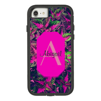 Monogram - Pink Leaf Camo Case-Mate Tough Extreme iPhone 8/7 Case