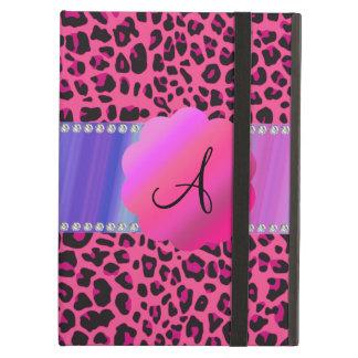 Monogram pink leopard iPad air covers