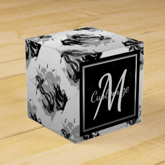 Monogram Pirate Ship & Anchor Cube Favor Box 5 Party Favour Boxes