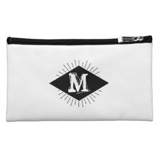 Monogram. Plain & Simple. Makeup Bag