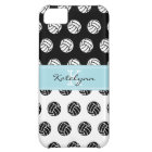 Monogram Polka Dot Volleyballs iPhone 5 Case