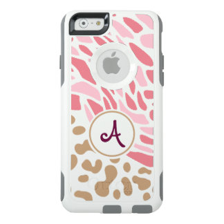 Monogram Print - iPhone Case